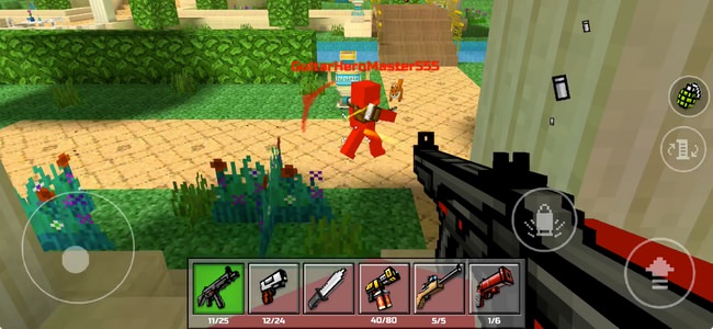 Find out and use the best pixel gun 3d hacks on online