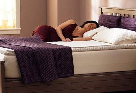 good-quality bed and mattress